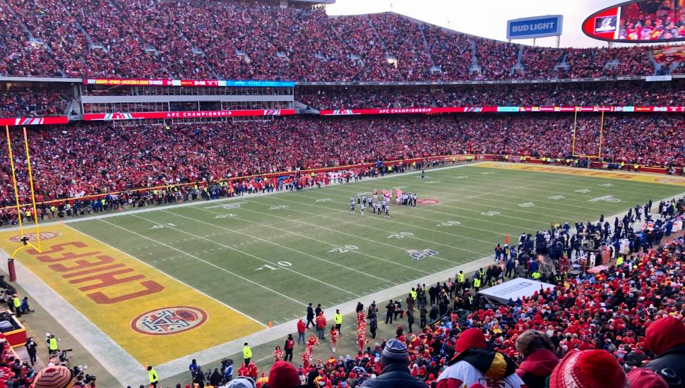 Arrowhead Stadium,  Section <strong>114</strong>, Row <strong>11</strong>, Seat <strong>5</strong>