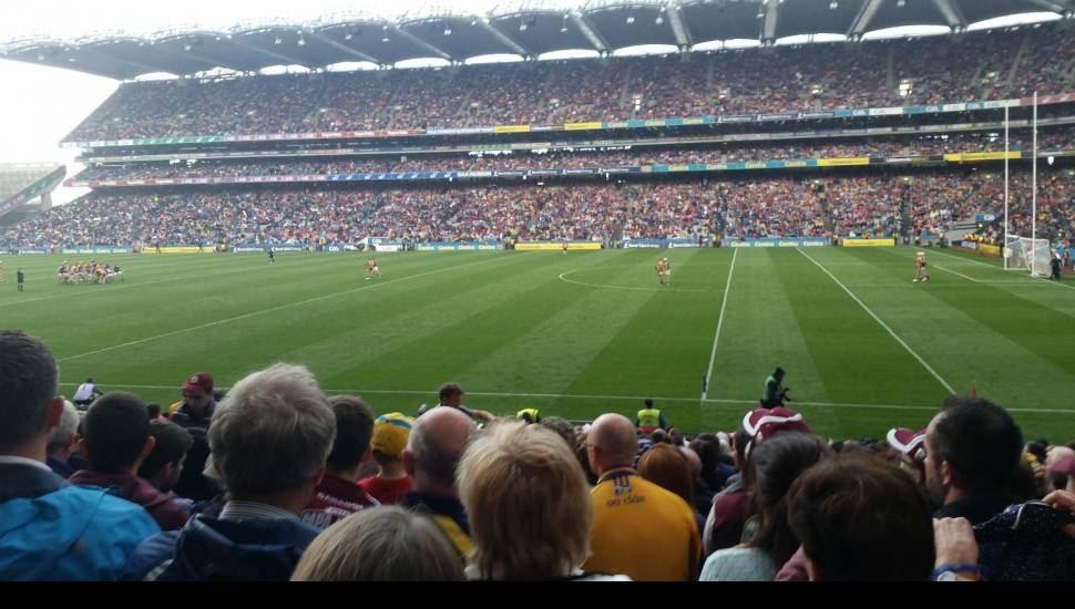 Croke Park,  Section <strong>108</strong>, Row <strong>42</strong>