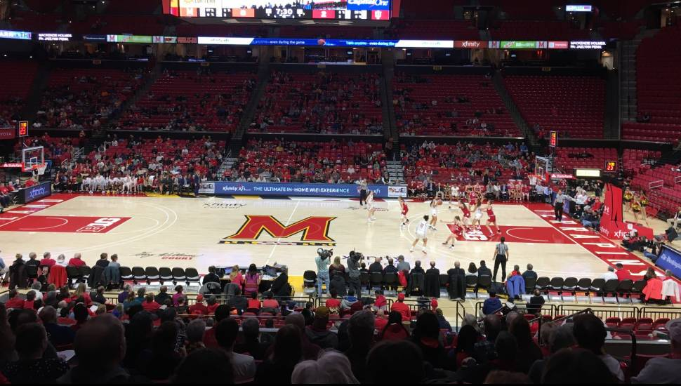 Xfinity Center (Maryland),  Section <strong>115</strong>, Row <strong>A</strong>, Seat <strong>2</strong>
