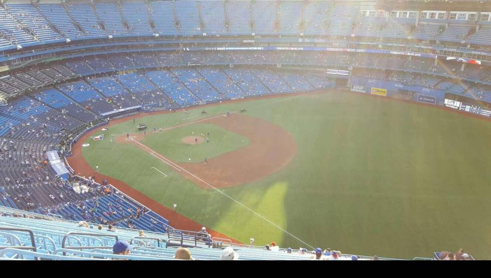 Rogers Centre,  Section <strong>126</strong>, Row <strong>26</strong>, Seat <strong>9</strong>