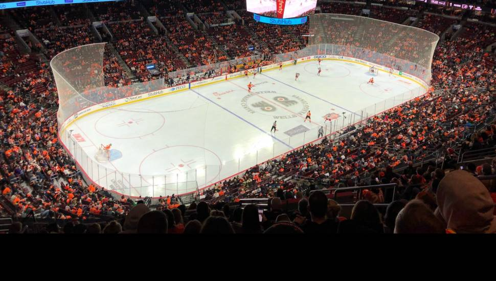 Wells Fargo Center,  Section <strong>116</strong>, Row <strong>3</strong>, Seat <strong>6</strong>