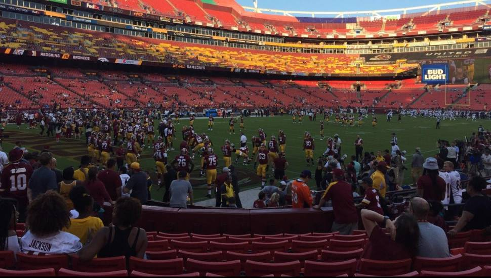 FedEx Field,  Section <strong>39</strong>, Row <strong>6</strong>, Seat <strong>11</strong>