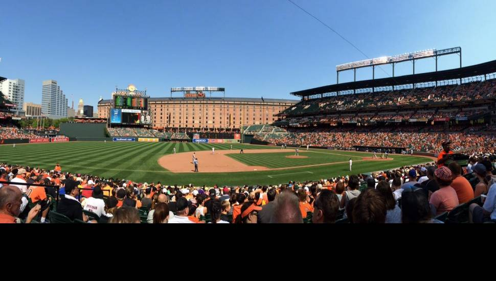 Oriole Park at Camden Yards,  Section <strong>117</strong>, Row <strong>X</strong>, Seat <strong>7</strong>
