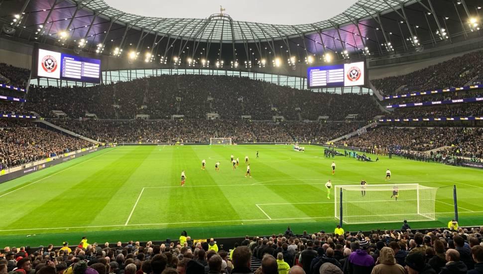 Tottenham Hotspur Stadium,  Section <strong>319</strong>, Row <strong>15</strong>, Seat <strong>13</strong>