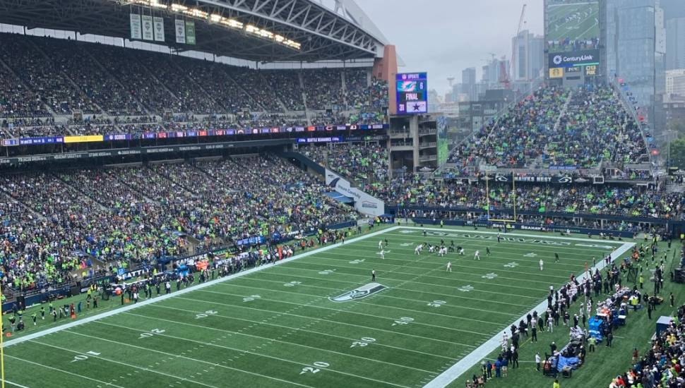 CenturyLink Field,  Section <strong>408</strong>, Row <strong>2</strong>, Seat <strong>13</strong>
