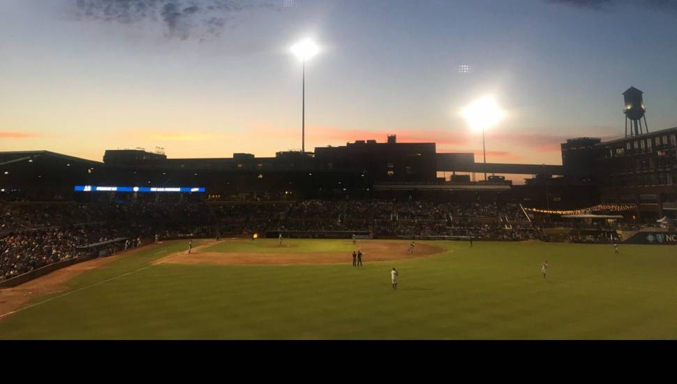 Durham Bulls Athletic Park,  Section <strong>Presidentielle</strong>, Row <strong>O</strong>, Seat <strong>205</strong>