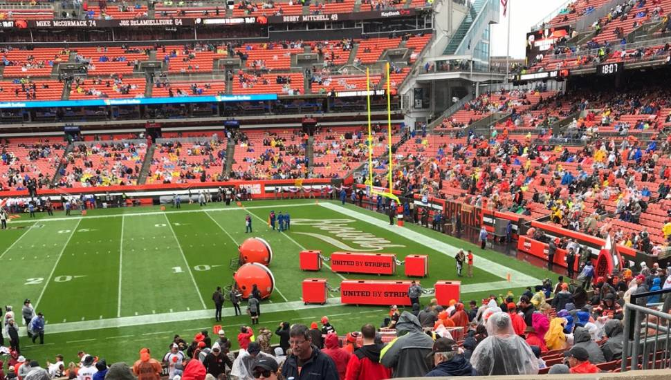 FirstEnergy Stadium,  Section <strong>231</strong>, Row <strong>4</strong>, Seat <strong>5</strong>