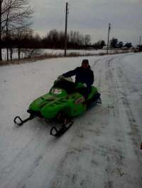 My Snowmobile