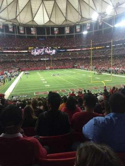 Georgia Dome, section: 127, row: 32, seat: 9