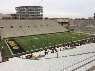 Kinnick Stadium, section: 131, row: 77, seat: 16
