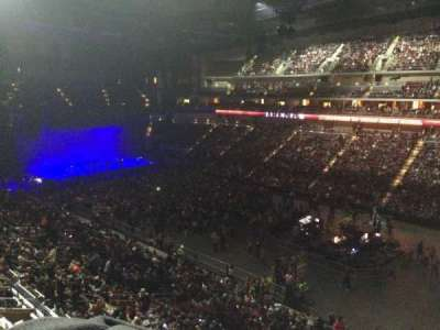Wells Fargo Arena, section: 215, row: A, seat: 17
