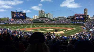 Wrigley Field, section: 215, row: 12, seat: 5