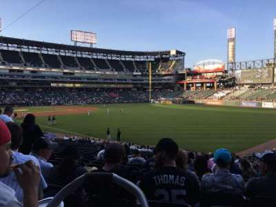 Guaranteed Rate Field, section: 110, row: 27, seat: 13
