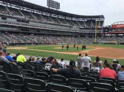Guaranteed Rate Field, section: 121, row: 14, seat: 5