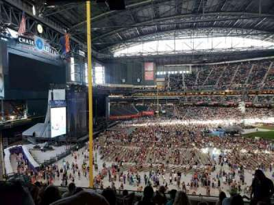 Chase Field, section: 221, row: 11