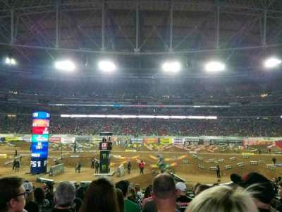 University of Phoenix Stadium, section: 108, row: 16, seat: 10
