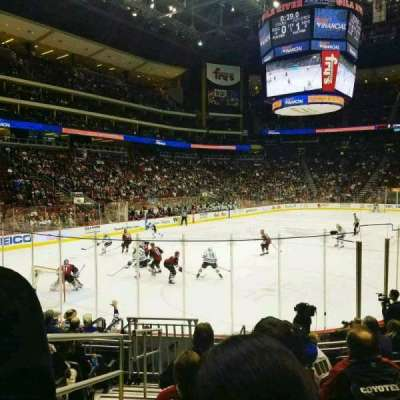 Gila River Arena, section: 115, row: k, seat: 14
