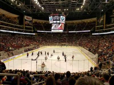 Gila River Arena, section: 116, row: R, seat: 22