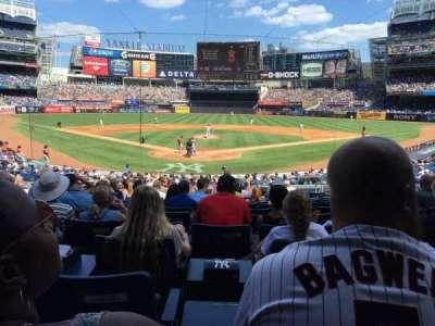 Yankee Stadium section 120A