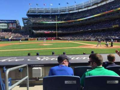 Yankee Stadium, section: 023, row: 4, seat: 12