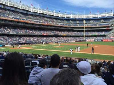 Yankee Stadium section 114A