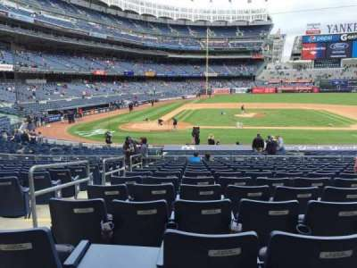 Yankee Stadium, section: 117A, row: 13, seat: 9