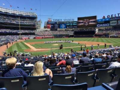 Yankee Stadium section 118