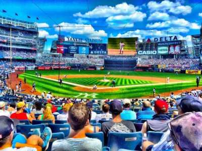 Yankee Stadium, section: 120A, row: 11, seat: 3