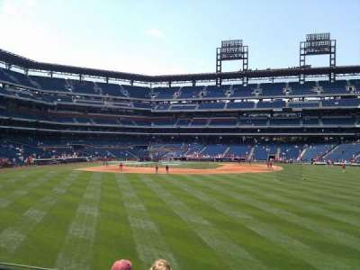 Citizens Bank Park, section: 103, row: 4, seat: 10