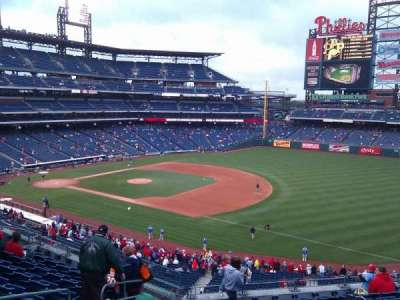 Citizens Bank Park, section: 210, row: 10, seat: 20