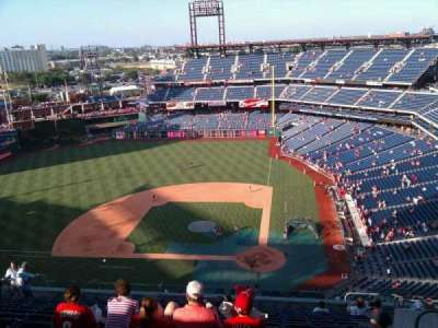 Citizens Bank Park, section: 424, row: 16, seat: 7