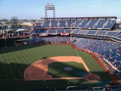 Citizens Bank Park, section: 426, row: 11, seat: 3