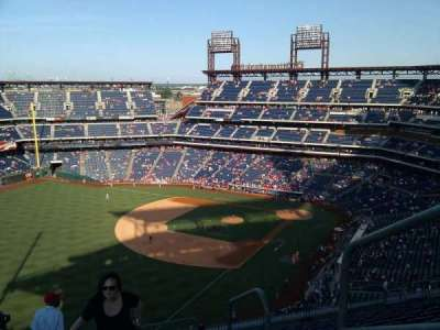 Citizens Bank Park, section: 434, row: 13, seat: 1