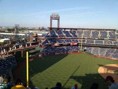 Citizens Bank Park, section: 434, row: 13, seat: 2