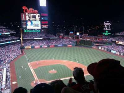 Citizens Bank Park, section: 418, row: 13, seat: 12