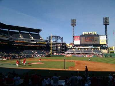 PNC Park, section: 110, row: d, seat: 2