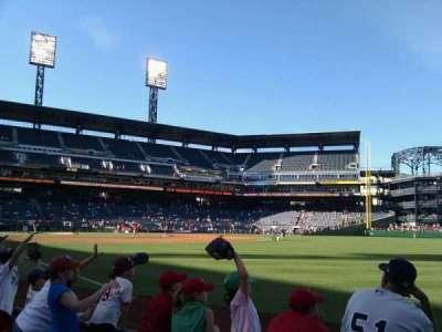 PNC Park, section: 1, row: d, seat: 1