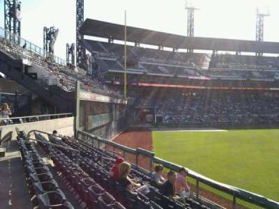 PNC Park, section: 140, row: f, seat: 6