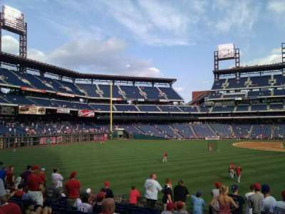 Citizens Bank Park, section: 143, row: 12, seat: 17