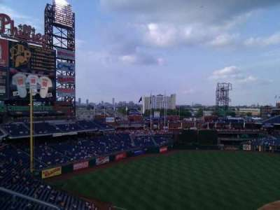 Citizens Bank Park, section: 326, row: 1, seat: 20