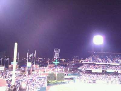 Citizens Bank Park, section: 332, row: 4, seat: 3