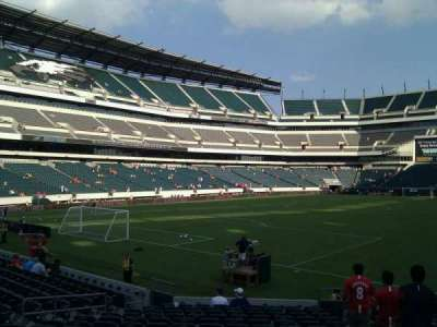 Lincoln Financial Field, section: 132, row: 16, seat: 4