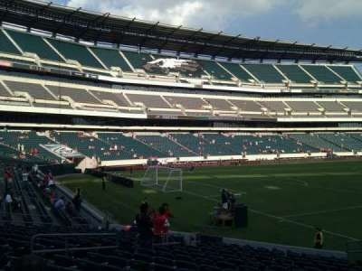 Lincoln Financial Field, section: 133, row: 16, seat: 8