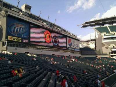 Lincoln Financial Field, section: 134, row: 15, seat: 7