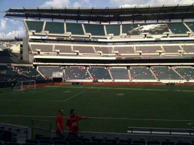 Lincoln Financial Field, section: 137, row: 10, seat: 9
