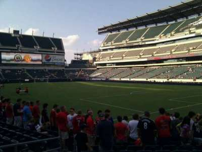 Lincoln Financial Field, section: 107, row: 9, seat: 13