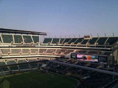 Lincoln Financial Field, section: 243, row: 6, seat: 1