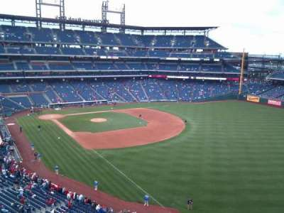 Citizens Bank Park, section: 308, row: 1, seat: 12