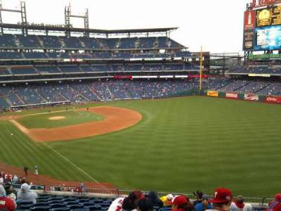 Citizens Bank Park, section: 207, row: 11, seat: 8