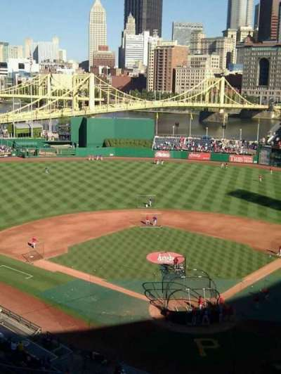 PNC Park, section: 318, row: h, seat: 14